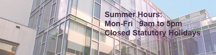 Summer Hours 2016
