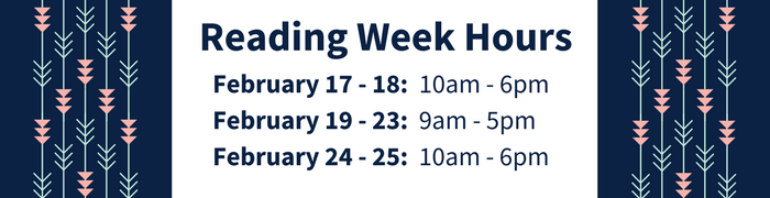 Reading Week 2018