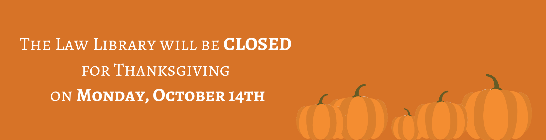 Closed Thanksgiving 2019